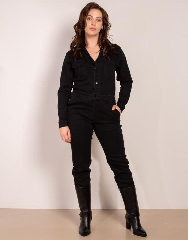 Voyar la Rue jeans jumpsuit