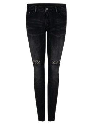 Esqualo jeans met steentjes