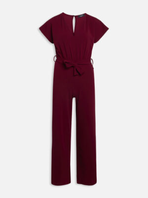 Sisterspoint jumpsuit bordeaux rood
