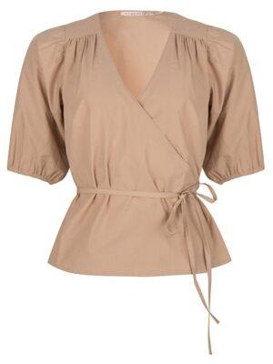 Esqualo blouse met overlap