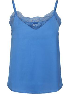 Blauwe camisole top