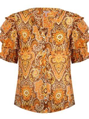 Esqualo blouse golden hour