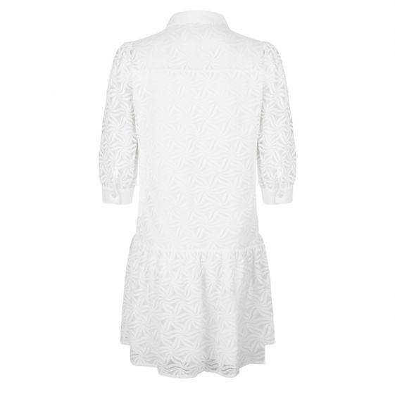 Esqualo wit kant jurkje