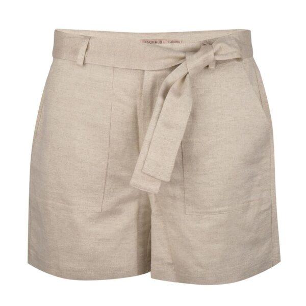 Esqualo short linnen metallic