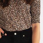 Esqualo leopard top
