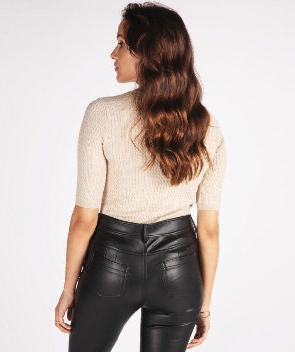 Esqualo vegan leather broek