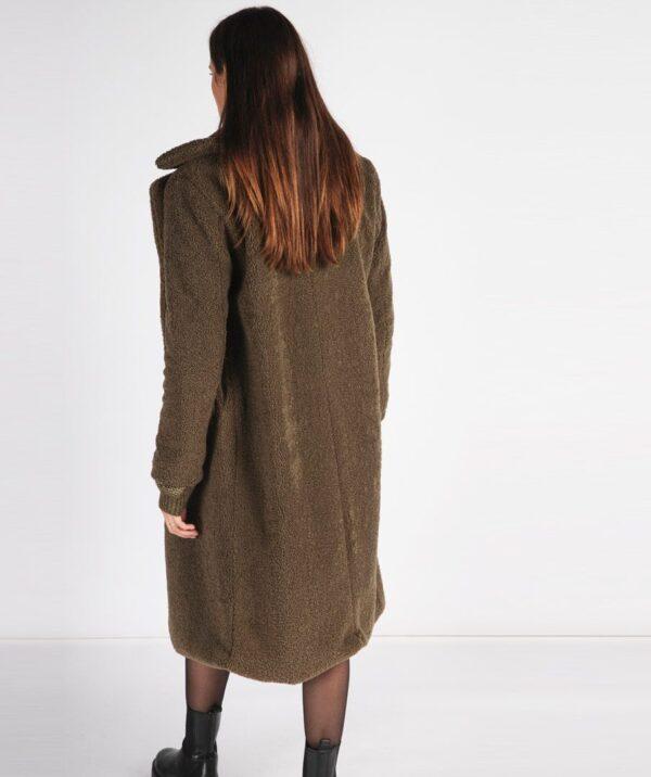Esqualo lange teddy coat